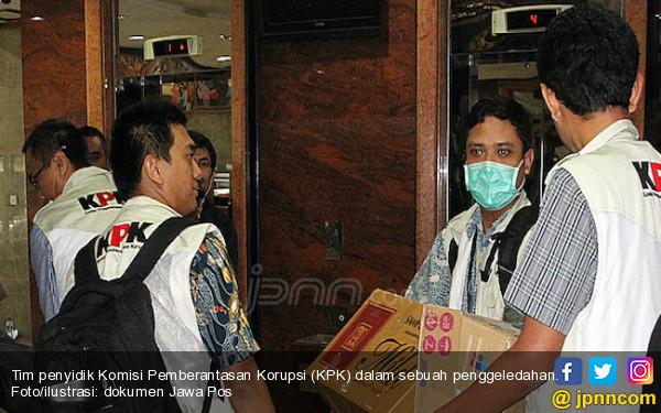 Kronologi KPK Bekuk Bowo Sidik Golkar dalam OTT Suap Distribusi Pupuk - JPNN.com