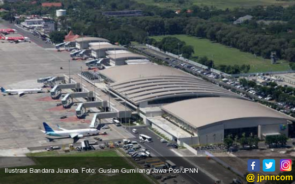 Bandara Juanda Siagakan Kendaraan Tempur  - JPNN.COM
