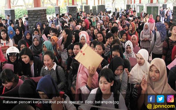 Pencaker dari Luar Daerah Masih Dominasi Pasar Kerja Batam - JPNN.COM