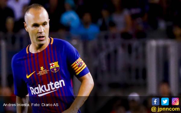 Andres Iniesta Umumkan Destinasi Baru Usai Copa del Rey - JPNN.com