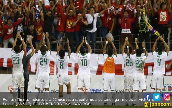 Andi Mallarangeng dan Artis Nonton Langsung Timnas Indonesia U22 vs Vietnam  Olahraga JPNN.com