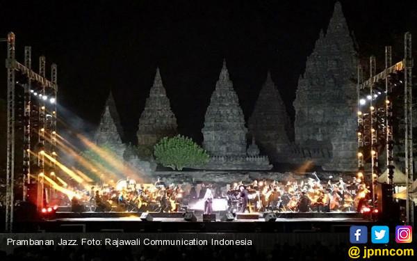 Prambanan Jazz Online, Konser Pertama yang Disiarkan Langsung dari Venue - JPNN.com