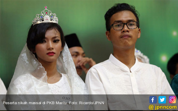 Wuihh..143 Pasangan Ikut Nikah Massa PKB, Tak Ada Yang Poligami - JPNN.com