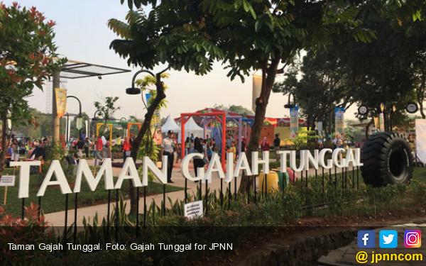 Aduhai, Cantiknya Taman Gajah Tunggal di Tangerang - JPNN.COM