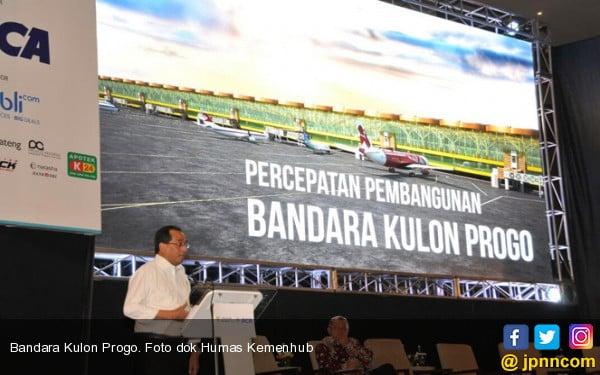 Progres Pembangunan Terminal Bandara Internasional Yogyakarta Sudah 53 Persen - JPNN.COM