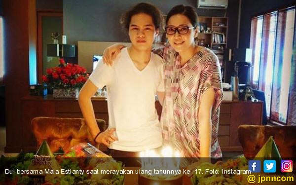 Maia Estianty Bikin Dul Jaelani Menangis - JPNN.COM