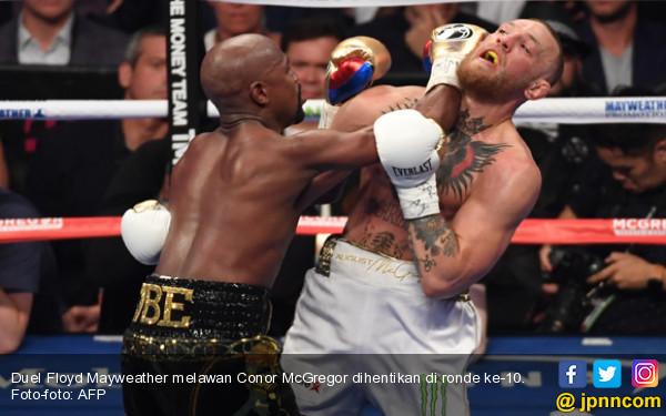 Mayweather Ingin Duel Kontra McGregor di UFC - JPNN.com