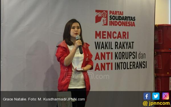 Prabowo - Sandi Ubah Visi Misi, Grace PSI: Menakjubkan - JPNN.COM