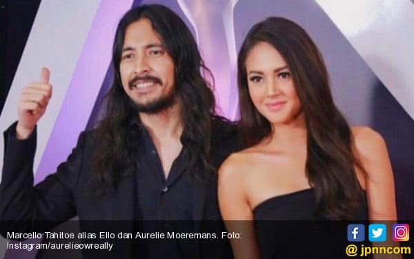 Ello Rayakan Natal Bareng Aurelie Moeremans di RSKO - JPNN.com
