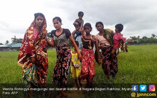 Sadis, Cara Tentara Myanmar Memperlakukan Perempuan Rohingya - JPNN.COM