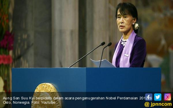 Suu Kyi Bela Vonis Penjara untuk Duo Jurnalis Reuters - JPNN.COM