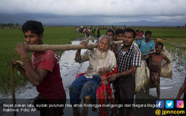 Tiongkok Dukung Aksi Militer Myanmar di Rakhine - JPNN.COM