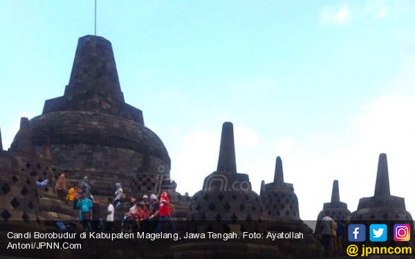 KLHK Dukung Pengelolaan Sampah dan RHL di Kawasan Candi Borobudur - JPNN.com