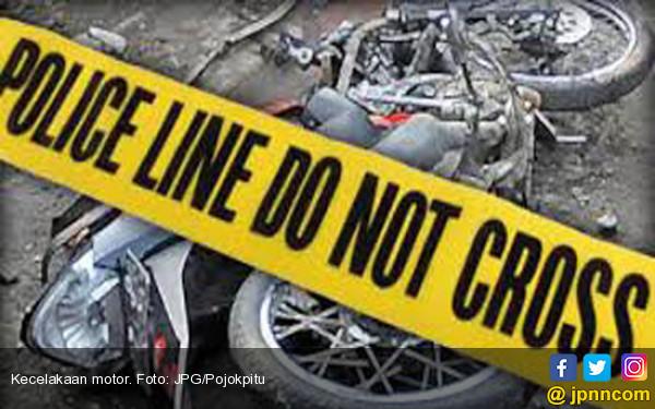 Pemotor Tewas Kecelakaan di Depok, Kepala Putus - JPNN.com