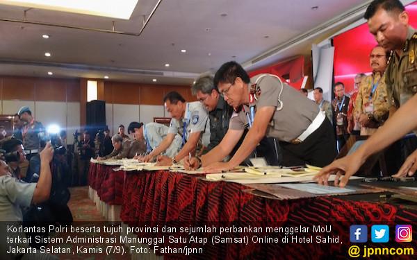 Tujuh Provinsi Sepakat Terapkan Sistem Samsat Online - JPNN.com