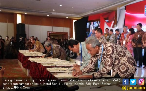 Korlantas Polri Dorong Semua Provinsi Terapkan Samsat Online - JPNN.com