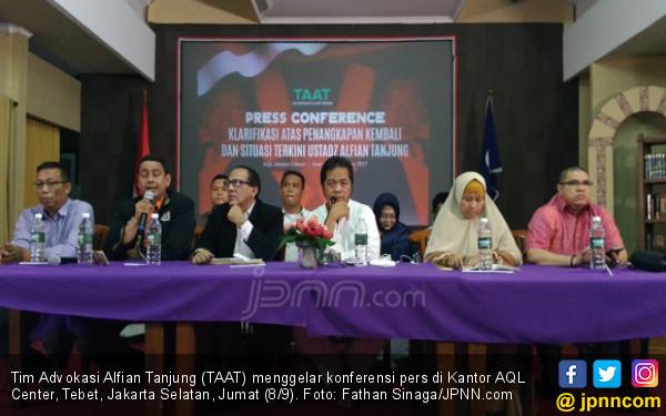 Kubu Alfian Tanjung Tuding Polisi Tak Cermat Memeriksa Bukti - JPNN.COM
