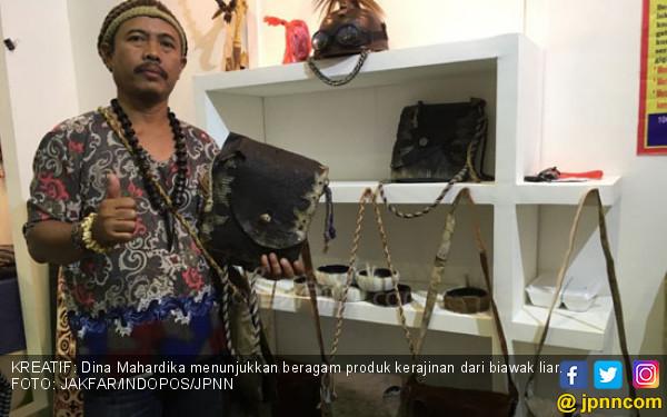 Sulap Kulit Biawak Jadi Produk Berdaya Jual Tinggi - JPNN.com