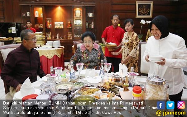 Megawati dan Dahlan Makan Siang Semeja, Ini yang Dibicarakan - JPNN.COM