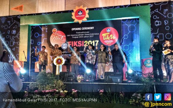 Tampung Kreasi Pelajar, Kemendikbud Gelar FIKSI 2017 - JPNN.COM