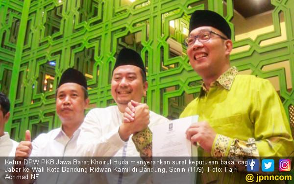 Hatur Nuhun, Kang Emil Pamer Surat dari PKB di Instagram - JPNN.COM