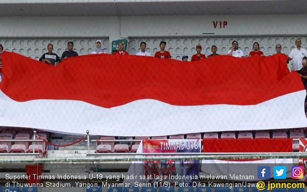 Jokowi Sedih Banget Kalau Timnas Indonesia U-19 Kalah - JPNN.COM