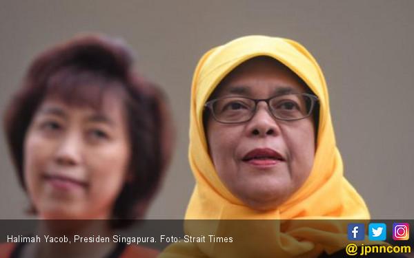 Singapura Punya Presiden Muslim, Halimah Yacob - JPNN.COM