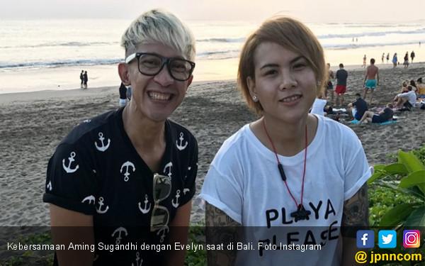 Evelyn Sempat Kagok Bertemu dengan Aming - JPNN.COM