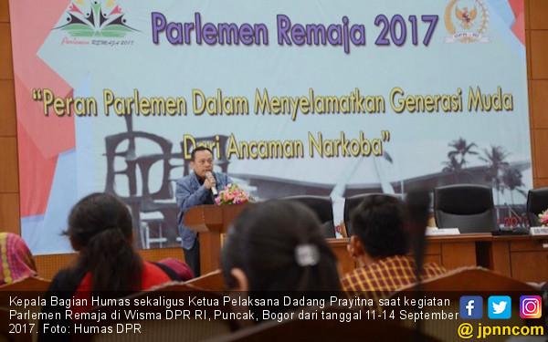Setjen dan BK DPR Gelar Parlemen Remaja - JPNN.COM
