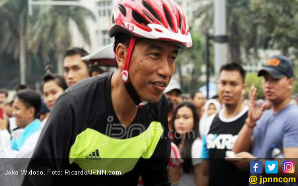 Resmikan Perpustakaan, Jokowi Sempat Bicara soal Timnas U-19 - JPNN.COM