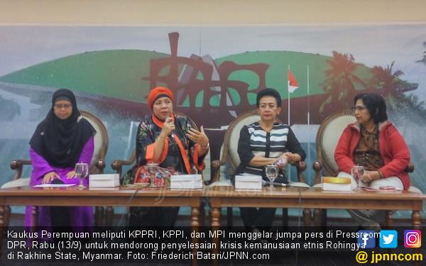Kaukus Perempuan Dorong Penyelesaian Krisis Rohingya - JPNN.COM