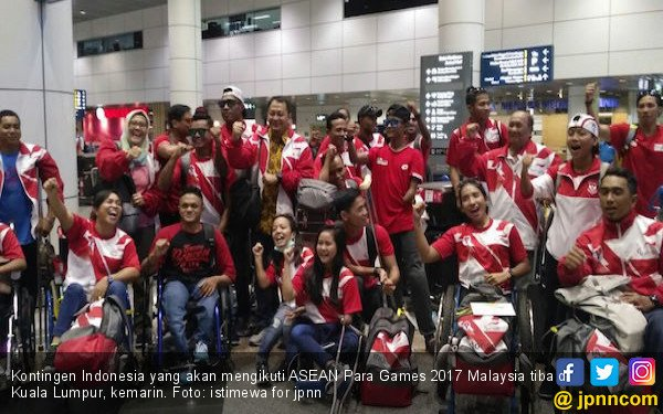 Optimisme Tinggi Atlet Indonesia saat Tiba di Malaysia - JPNN.COM
