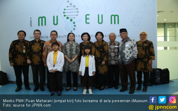 Menko PMK Resmikan iMuseum IMERI FKUI - JPNN.COM