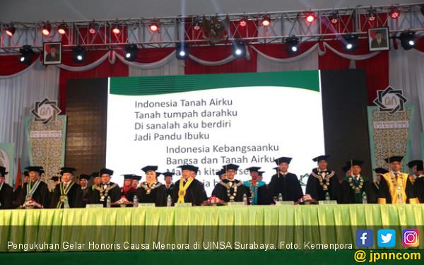 Menpora Raih Gelar Honoris Causa dari UINSA Surabaya - JPNN.COM