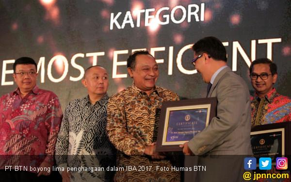 BTN Boyong 5 Penghargaan Dalam IBA 2017 - JPNN.COM