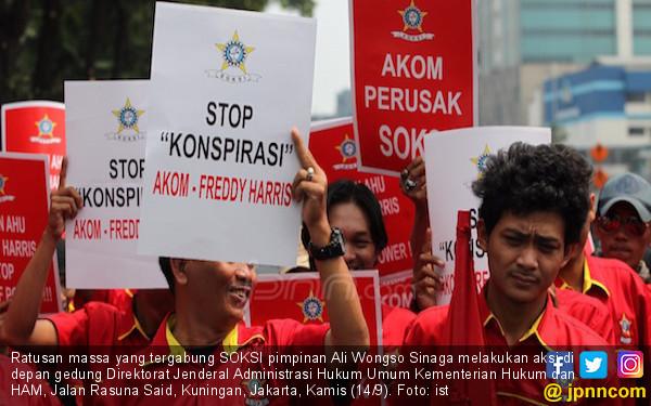 Ali Wongso Minta Freddy Haris Tak Berkonspirasi dengan Akom - JPNN.COM