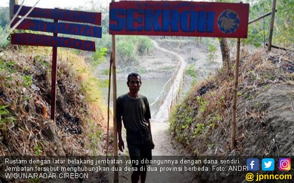 Kelola Jembatan Pribadi Antarprovinsi, Per Hari Rp 100 Ribu - JPNN.COM