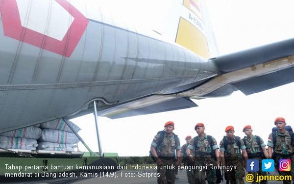 Bantuan Indonesia Buat Pengungsi Rohingya Tiba di Bangladesh - JPNN.COM