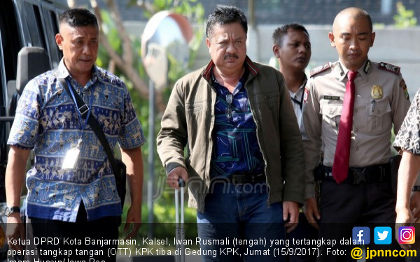Ditangkap KPK, Jabatan Iwan Rusmali Langsung Dipreteli - JPNN.COM