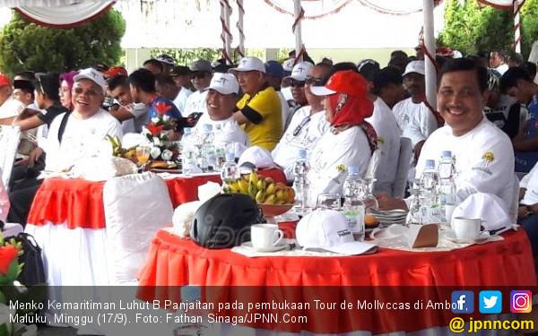 Menteri Luhut Buka Tour de Mollvccas, Ini Harapannya - JPNN.COM