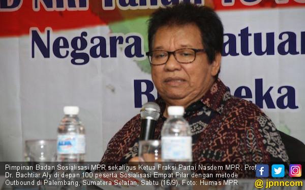 Bachtiar Aly: Muskil Sekali Mengubah Dasar Negara - JPNN.COM
