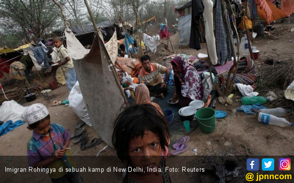 Kejam! Warga Bangladesh Eksploitasi Bocah-Bocah Rohingya - JPNN.COM