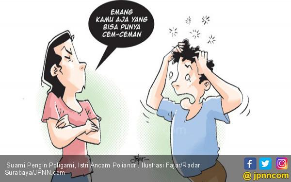 Suami Pengin Poligami, Istri Ancam Poliandri - JPNN.COM