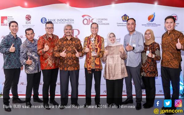 Bank BJB Raih Juara 1 Annual Report Award 2016 - JPNN.COM