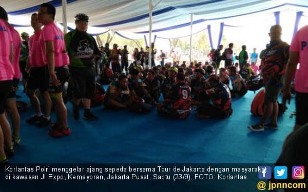 2 Ribu Pesepeda Ramaikan Tour de Jakarta - JPNN.COM
