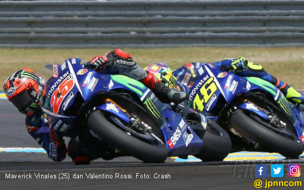 Maverick Vinales Wajib Podium di MotoGP Prancis - JPNN.COM