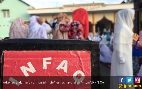 Mas Ramadan Gondol Uang Amal Masjid Rp 2,4 Juta - JPNN.com
