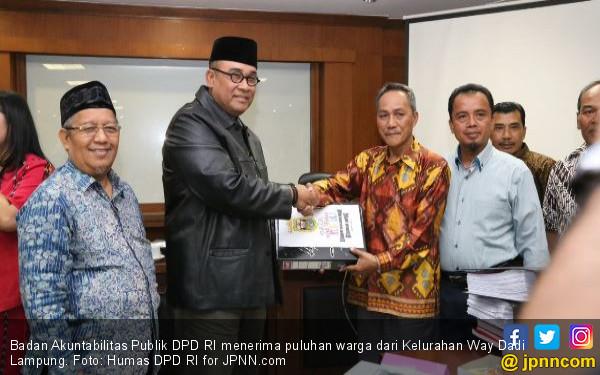 Puluhan Warga Lampung Mengadu ke BAP DPD RI - JPNN.COM