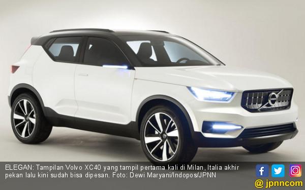 Resmi Mengaspal, Volvo XC40 Lebih Futuristik - JPNN.COM