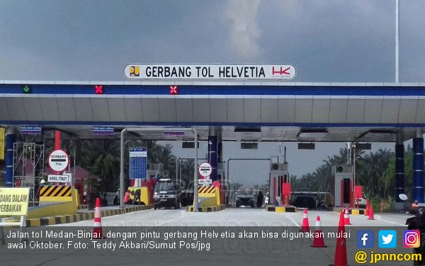 Tol Medan-Binjai Lewat 2 Pintu Ini Bisa Dilalui Pekan Depan - JPNN.com